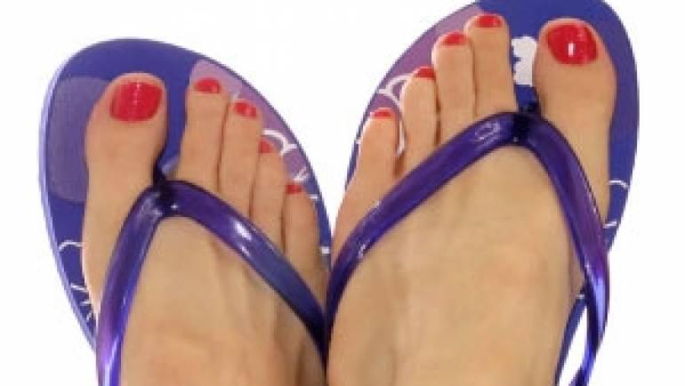 Flip Flop fancy feet…