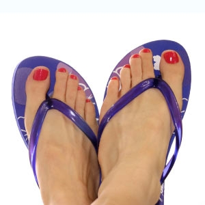 Flip Flop fancy feet…