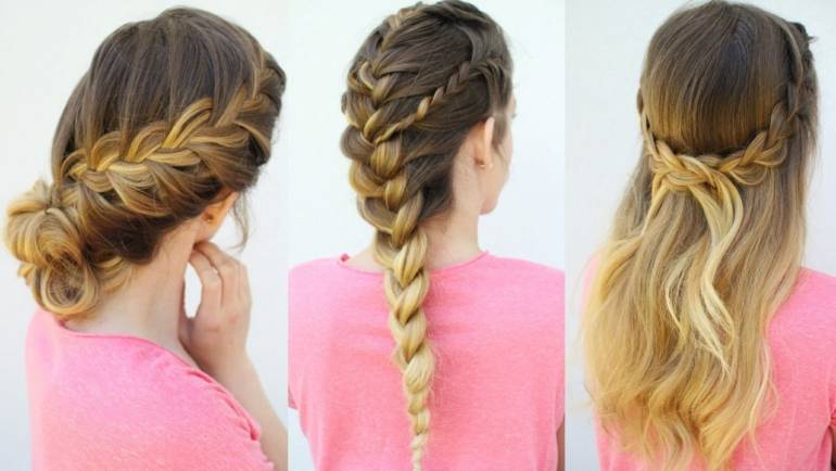 Do Some Plaits or a Ponytail