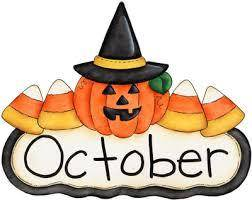 Welcome to our October blog…