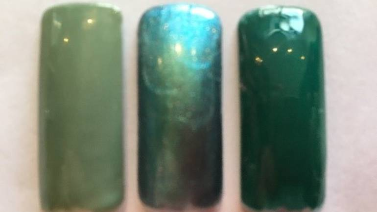 Green is the colour – for St Patrick's Day with OPI Gel Treatments!